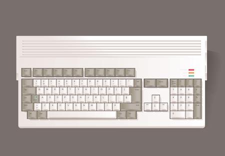 A vintage 16-bit computers