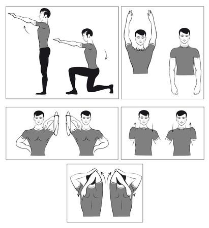 sedentary: un conjunto de ejercicios f�sicos para relajar la columna vertebral