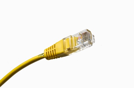 rg-45 connector, Ethernet Stock Photo