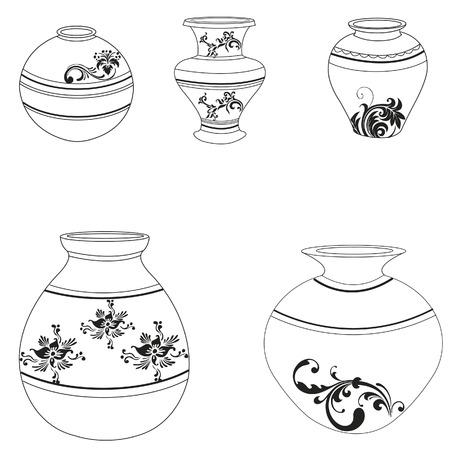 azal�e: Collection de poterie argile