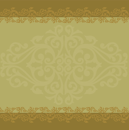 asian art: Asian Art Background Thai art pattern vector
