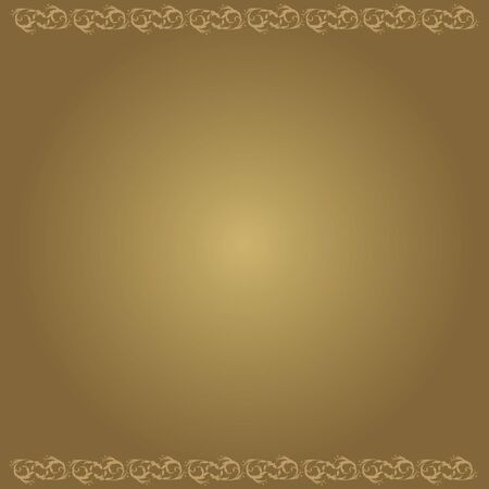 brown: background Decoration floral brown vector