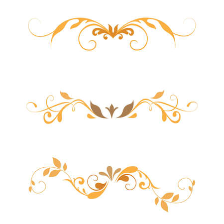 swirl: swirl element floral set