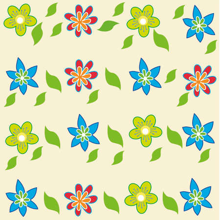 persia: Flowers background