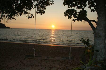 tonight: sunset on Koh Libong thailand