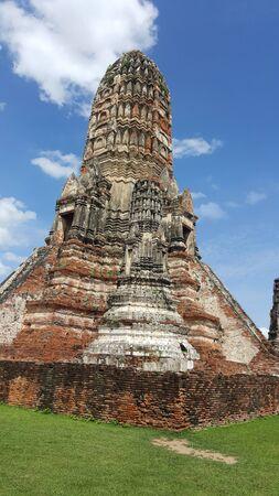 Old Temple, Wat Chaiwatthanaram