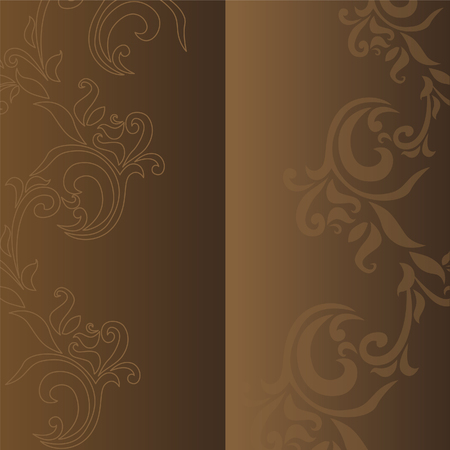 Brown flower background
