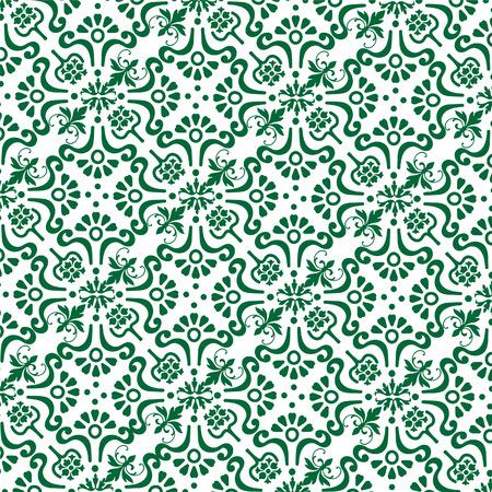 vintage background green