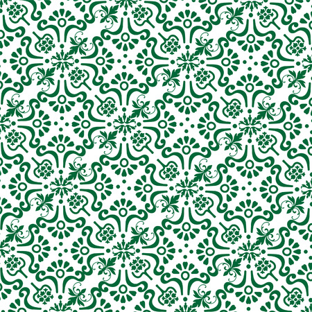 vintage background green