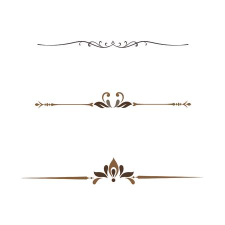 set of decorative frame vintage