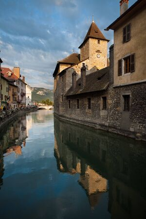 maintained: A wonderfully maintained medieval prison in the historic city center of Annecy.