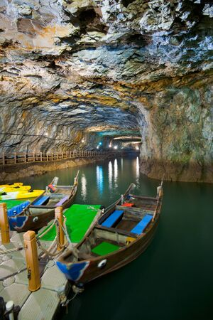 rentals: Beihai Tunnel, the former military tunnel designed to house equipment and personel is now used as a tourist attraction with free boat rentals to tour the caves.