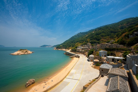 Turtle island is seen just off the coast of Qinbi village, a well preserved ancient village on Beigan Island, the top tourist destination on the Matsu Islands in Taiwan