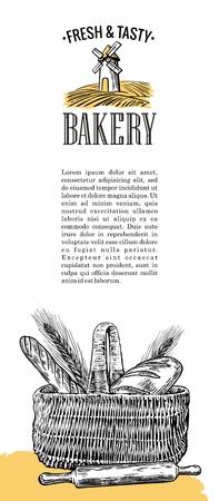 rolling landscape: Vintage engraving illustration for  label, poster, brochures.