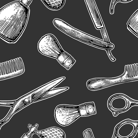 comb: A Seamless pattern set tool for BarberShop Illustration