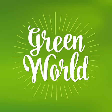 Vert main du monde vecteur de vecteur. vert vert mesh fond Banque d'images - 79641641