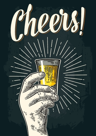Cheers banner poster.