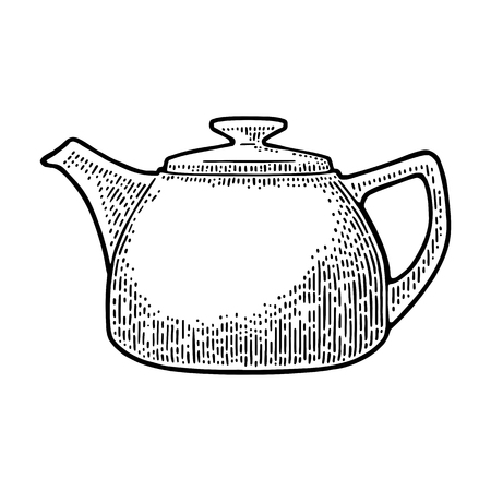 Ceramic kettle icon.