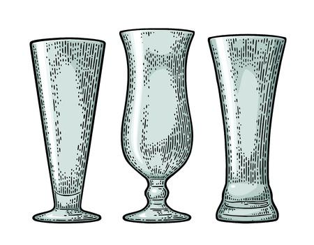 Ilustración de vidrio vacía . Foto de archivo - 91167503
