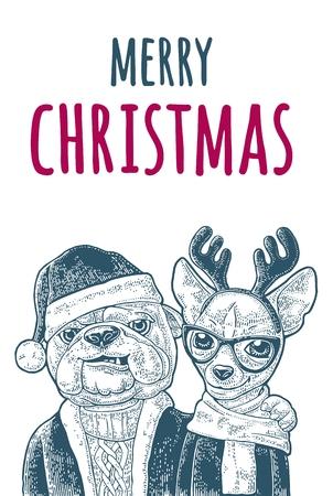 Merry Christmas banner.