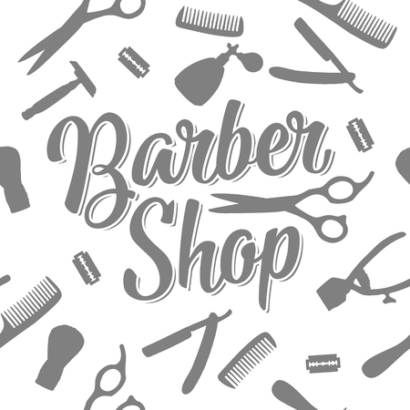 Seamless pattern set tool for Barber Shop