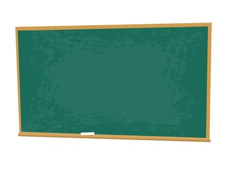 School desk and a chair vector illustration. Illustration