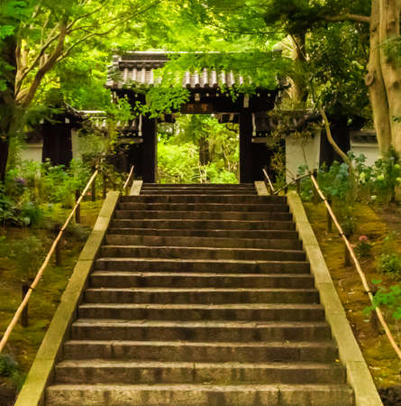 An historical piece of architecture, Higiri-Mon Gate was once a part of the Kyoto Imperial Palace until the 17th century before the shogun moved the emperor to Edo Castle in modern-day Tokyo. The well-preserved gate was reassembled for use in the Hana-Biyori Flower Park located in western Tokyo.