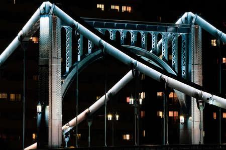 Short Exposure of Kiyosu Bridge in dark mode looks more menacing than its long-exposure version.