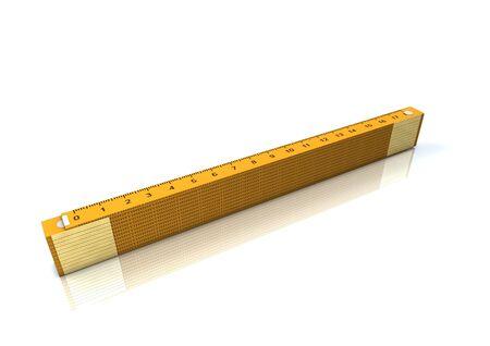 cinta m�trica amarilla