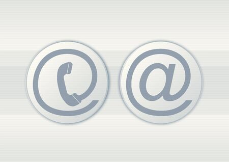 Contacto iconos