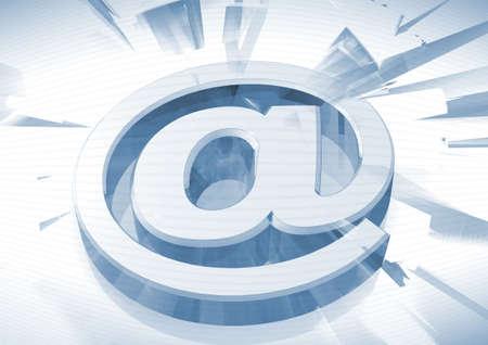 s�mbolo de correo electr�nico