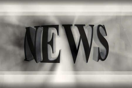 Gr�fico de las noticias de la palabra generados por ordenador.