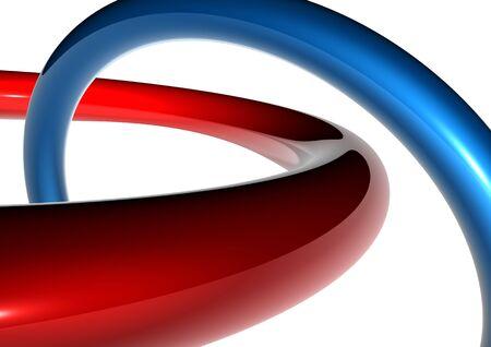 curva abstracto Foto de archivo