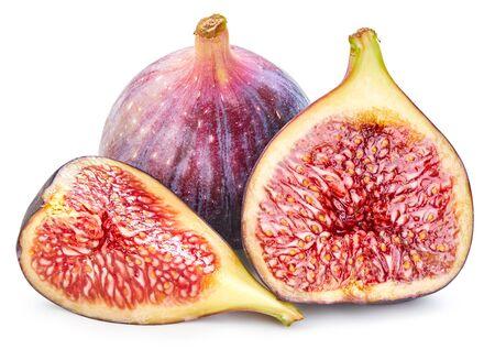 Fig isolated on white Zdjęcie Seryjne