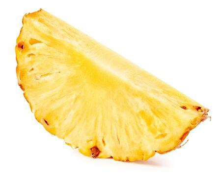 Ananas isolato su bianco Archivio Fotografico