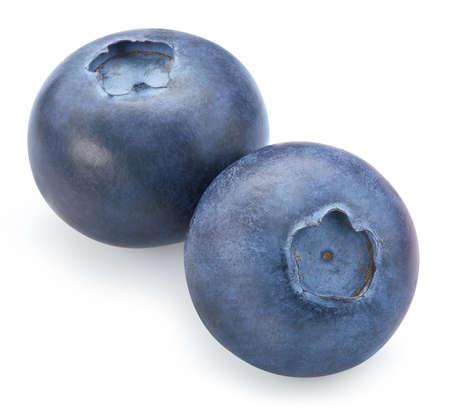 Fresh blueberry isolated on white background. Stockfoto