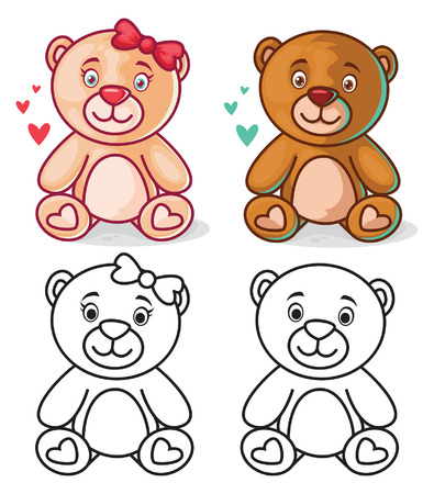 teddy bear cartoon: Teddy Bear Cartoon Character
