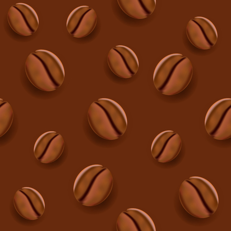great coffee: Coffee Seamless Vector Pattern. Great for backgrounds, wallpapers, games and other design projects.