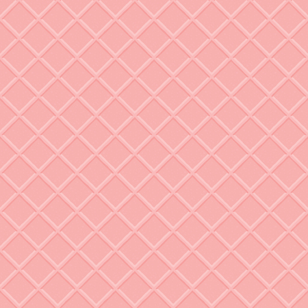 Pink Wafer Surface Seamless Vector Pattern. Great for backgrounds, wallpapers, games and other design projects.