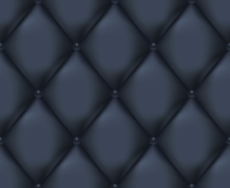 Dark Blue Quilted Seamless Vector Pattern.Vector background made with gradient mesh. Great for luxury and VIP projects.