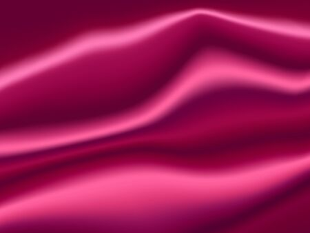 Purple Satin Abstract Vector Texture. Background made with gradient mesh.