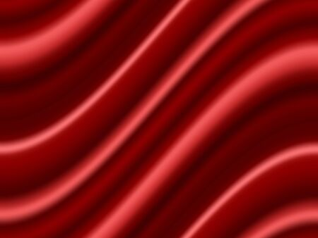 Red Satin Abstract Vector Texture. Background made with gradient mesh. Ilustracja