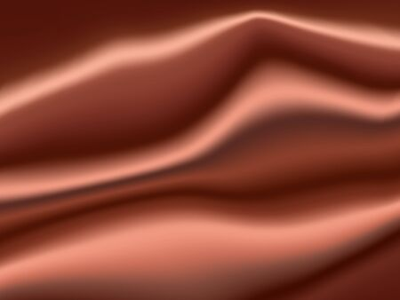 gradient mesh: Brown Satin Abstract Vector Texture. Background made with gradient mesh.