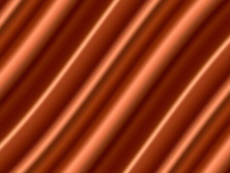 Dark Orange Satin Abstract Vector Texture. Background made with gradient mesh. Ilustracja