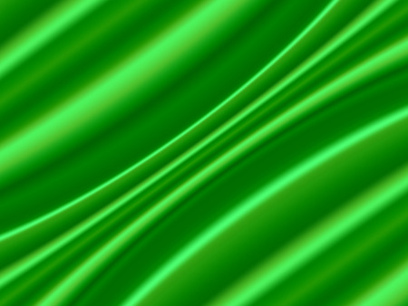 Green Satin Abstract Vector Texture. Background made with gradient mesh. Ilustracja