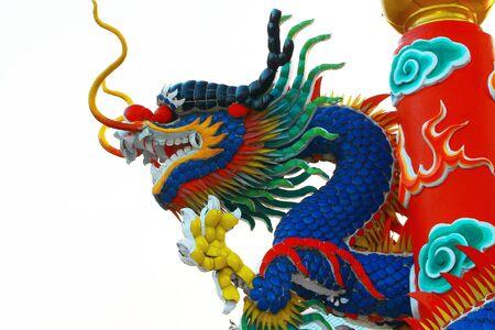 Dragon on sky Stock Photo - 17729491