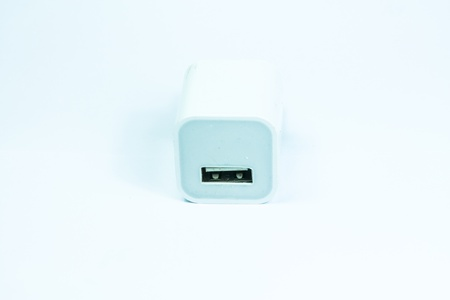 Electrical adapter to USB port Stock Photo - 18424708