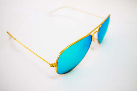 eyewear fashion:  aviators  you can easy put it on your picture Stock Photo