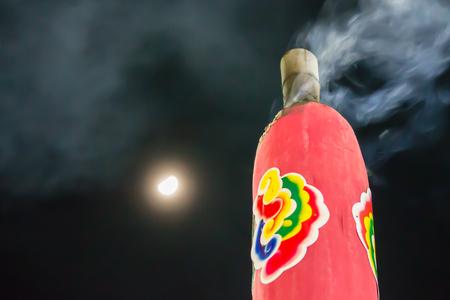 incense moon photo