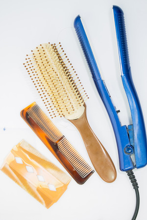 combs and straightener photo